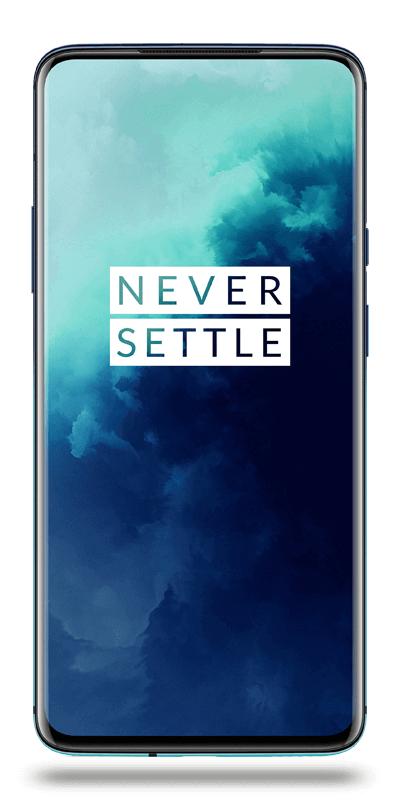 "Smartphone 6.67"" OnePlus 7T Pro - Snapdragon 855+, 8Go RAM, 256Go, Bleu"