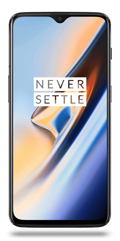 "Smartphone 6.41"" OnePlus 6T - full HD+, SnapDragon 845, 8 Go RAM, 256 Go, noir (Via retrait magasin)"