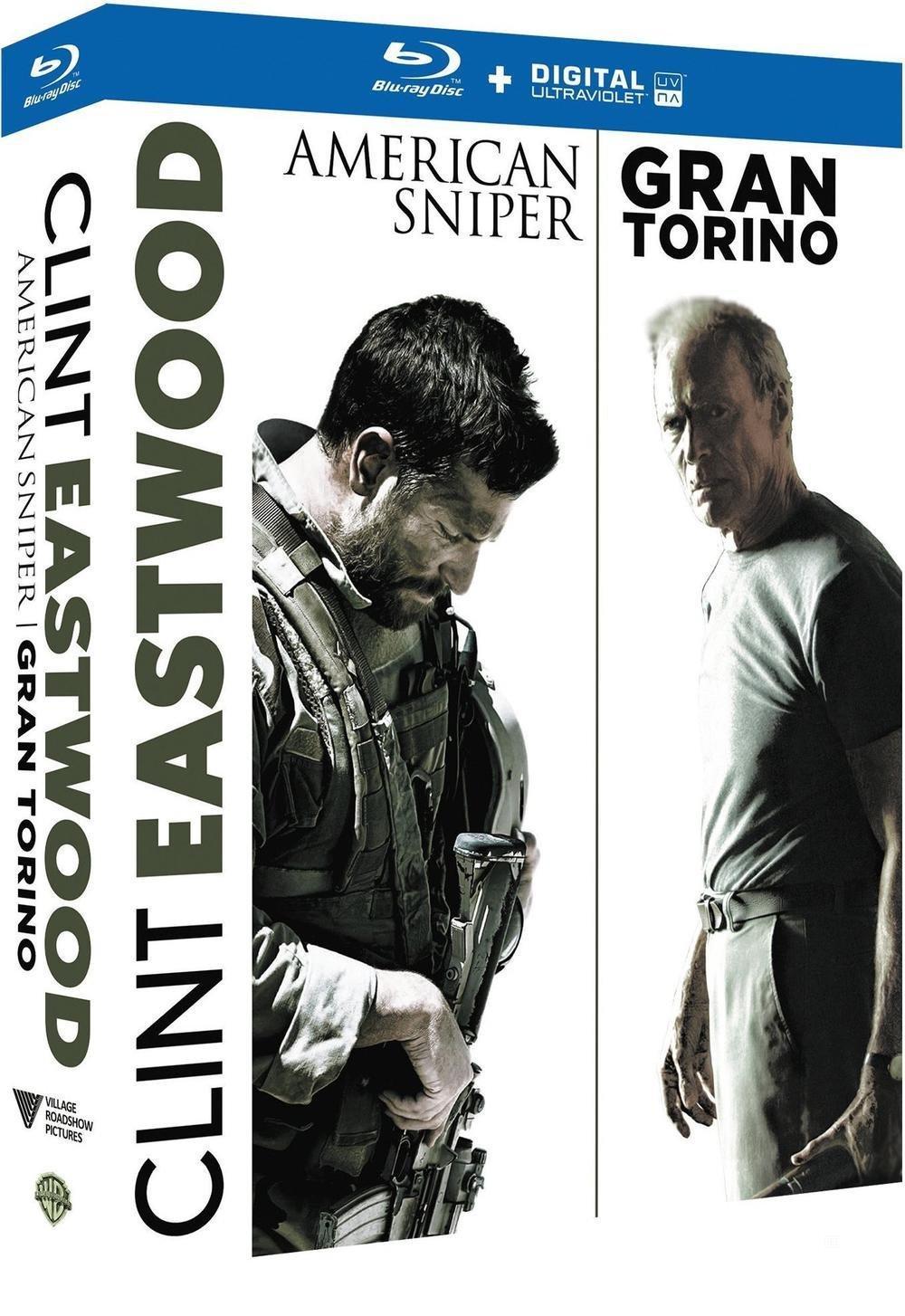 Sélection de coffrets Blu-ray en promotion - Ex : Clint Eastwood - American Sniper + Gran Torino