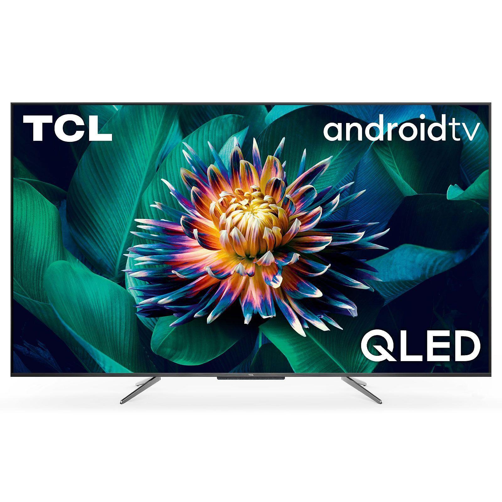 "TV 55"" TCL 55C711 - QLED, 4K UHD, HDR 10+, Dolby Vision, Android TV (469€ avec RAKUTEN30 + 28.45€ en SuperPoints) - Via ODR de 100€ (Ubaldi)"