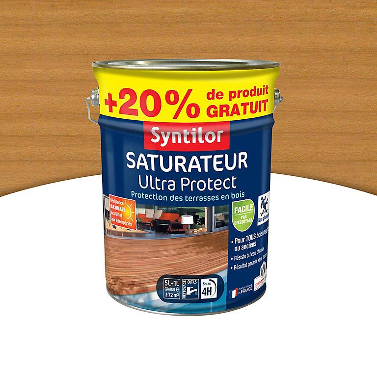 Lot de 2 pots de saturateurs aquaréthane Syntilor UltraProtect - 2x6 L (via ODR de 20€) - Aubière (63)