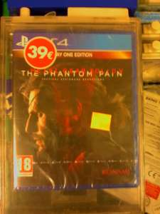 Metal Gear Solid V The Phantom Pain day one edition sur PS4 et Xbox One