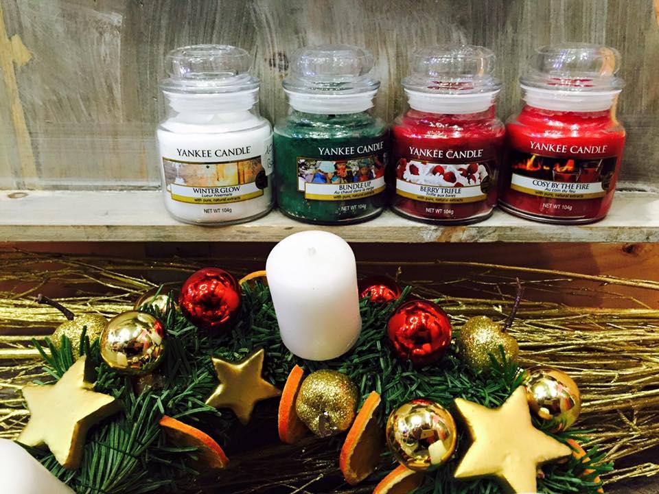 Sélection de produits Yankee Candles collection Noël en promotion