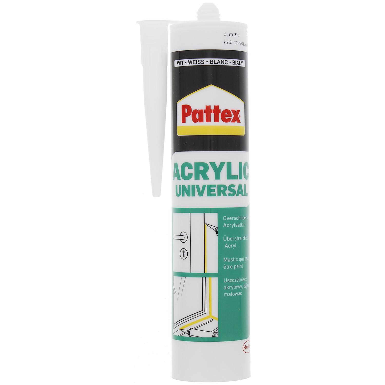Mastic Pattex Acrylique blanc