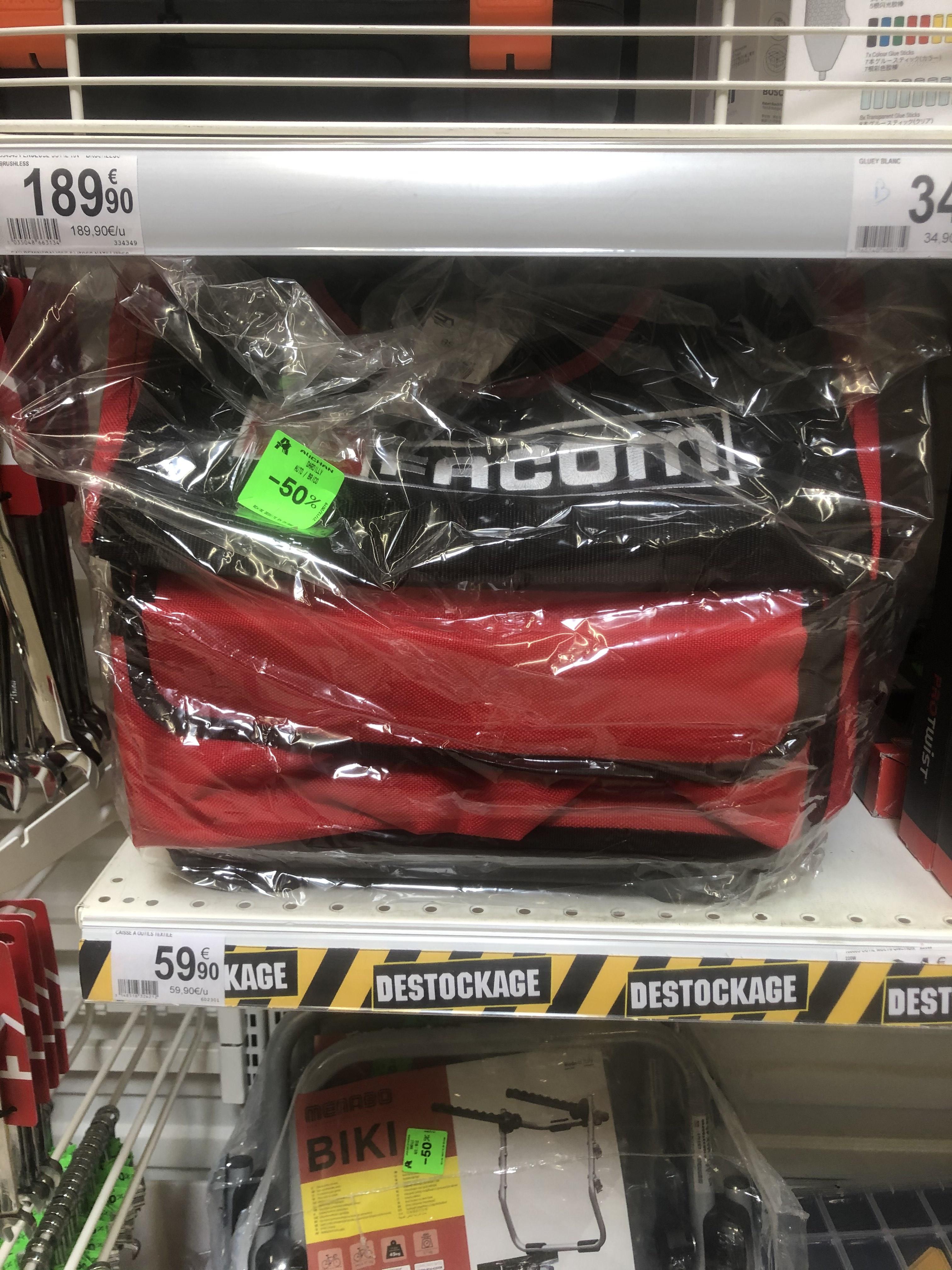 Boîte à outils textile Facom - Auchan Dardilly (69)