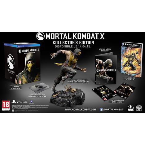 Mortal Kombat X Kollector's Edition sur PS4