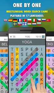 One By One PRO - Multilingual Word Search gratuit sur Android