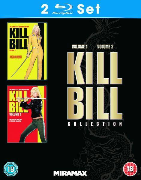 Blu-ray Kill Bill : Volume 1 et 2 (en anglais)