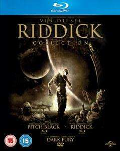 Coffret 2 Blu-ray The Riddick Collection (Pitch Black / Les Chroniques de Riddick) +1 DVD bonus