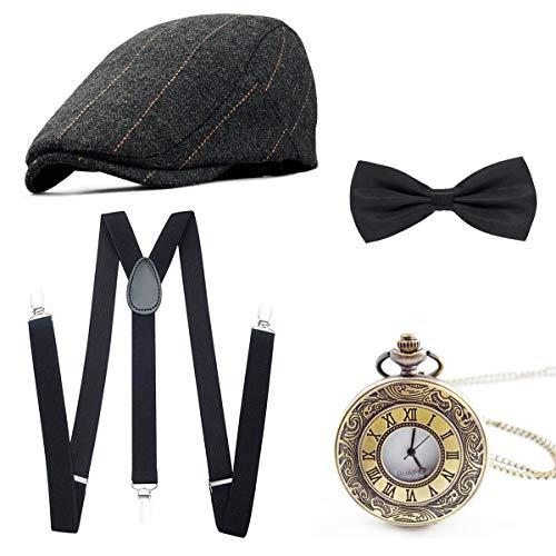 """Kit de déguisement Wagoog """"bandit des années 20"""" (Vendeur tiers)"""
