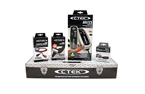 Kit Chargeur de Batterie Auto CTEK MXS5.0