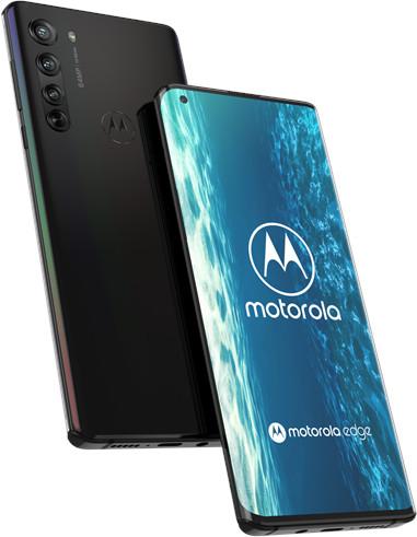 "Smartphone 6.67"" Motorola Edge - full HD+ 90 Hz, SnapDragon 765G, 6 Go de RAM, 128 Go, 64 Mpix, noir"