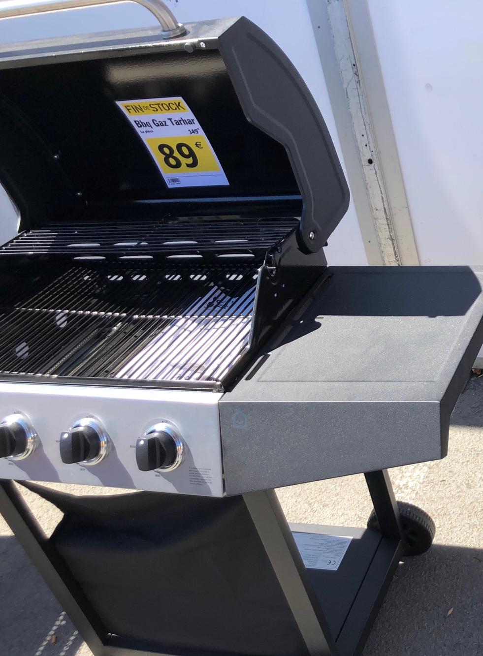 Sélection de barbecues à gaz en promotion - Ex : Tarhar (4 brûleurs, grille 62x40 cm, 11.7 kW) - Bailleul (59)