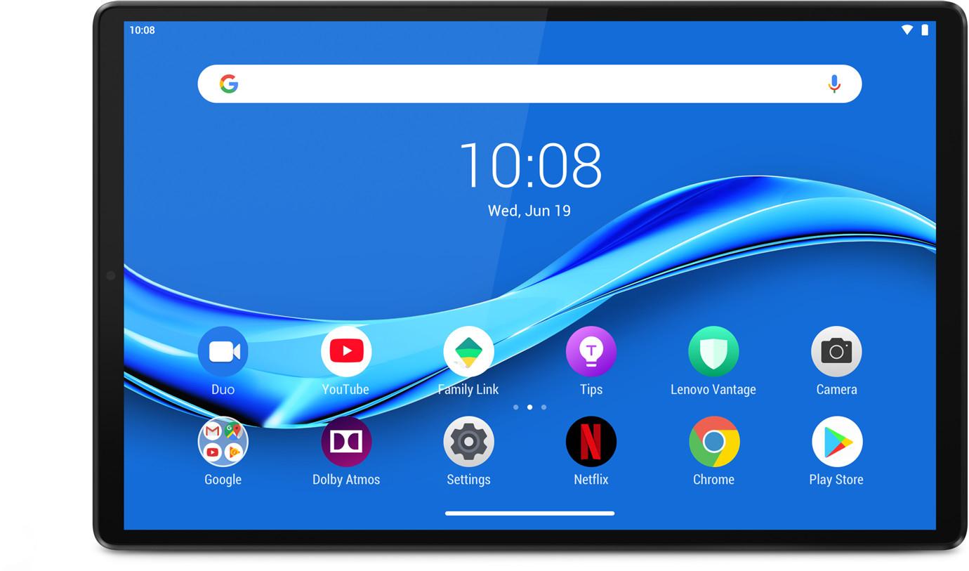 "Tablette tactile 10.3"" Lenovo Tab M10 Plus V2 (ZA5T0302) - full HD, Helio P22, 4 Go de RAM, 64 Go, Grise"