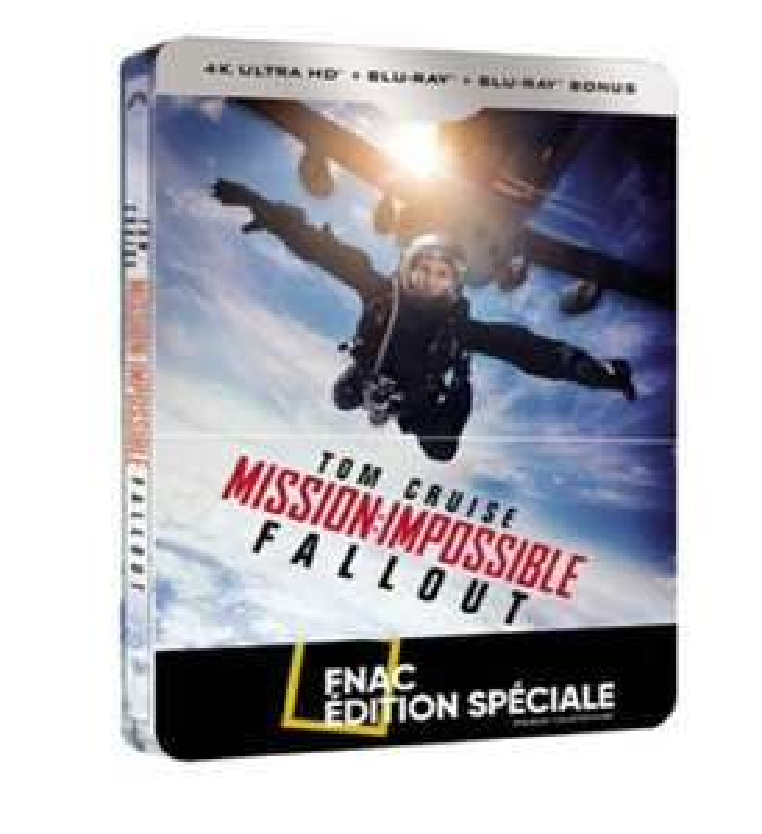 Sélection de Blu-Ray 4K & Steelbook 4K en promotion - Ex: Mission Impossible Fallout Steelbook