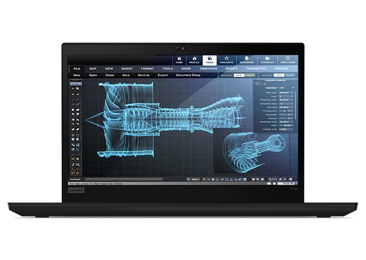 "PC Portable 14"" Lenovo ThinkPad P14s Gen 1 - FHD IPS, i7-10510U, RAM 16Go, SSD 500Go, Quadro P520 2Go,Windows 10"