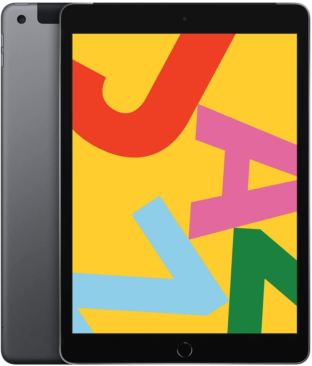 "Tablette 10.2"" Apple iPad - Wi-Fi + 4G, 32 Go, Gris Sidéral"