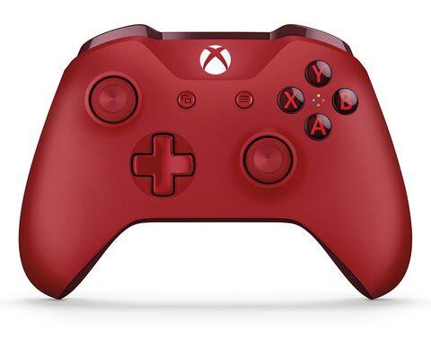 Manette sans fil Microsoft Xbox One - Rouge (via l'application - dans une sélection de magasins)