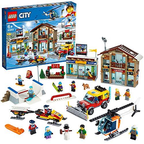 Jouet Lego City (60203) - La station de ski