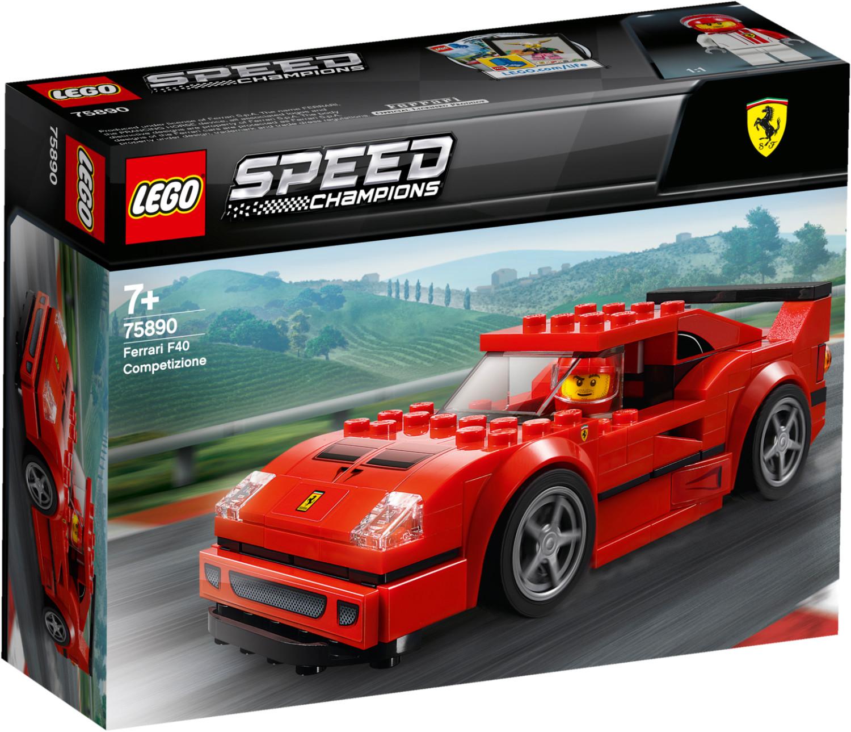 Sélection de jouets Lego en promotion - Ex : Speed Champions - Ferrari F40 Competizione (75890) - GetGoods.com