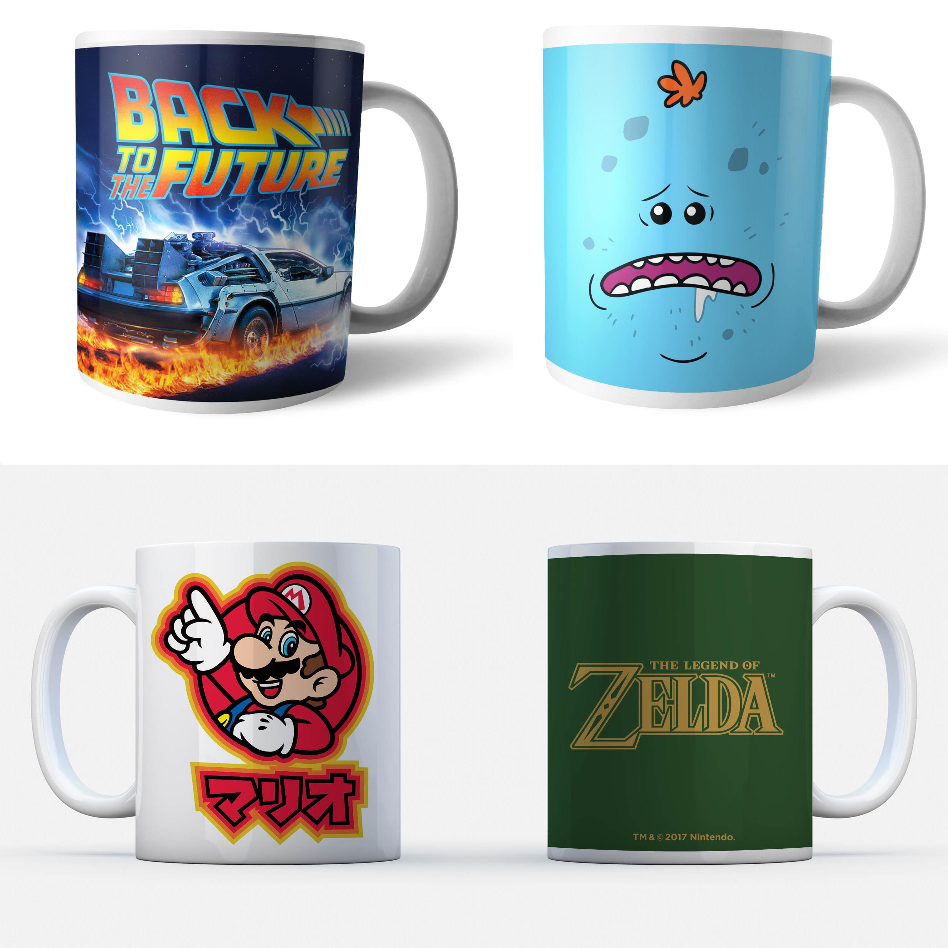 Lot de 4 Mugs/Tasses au choix pour 17€