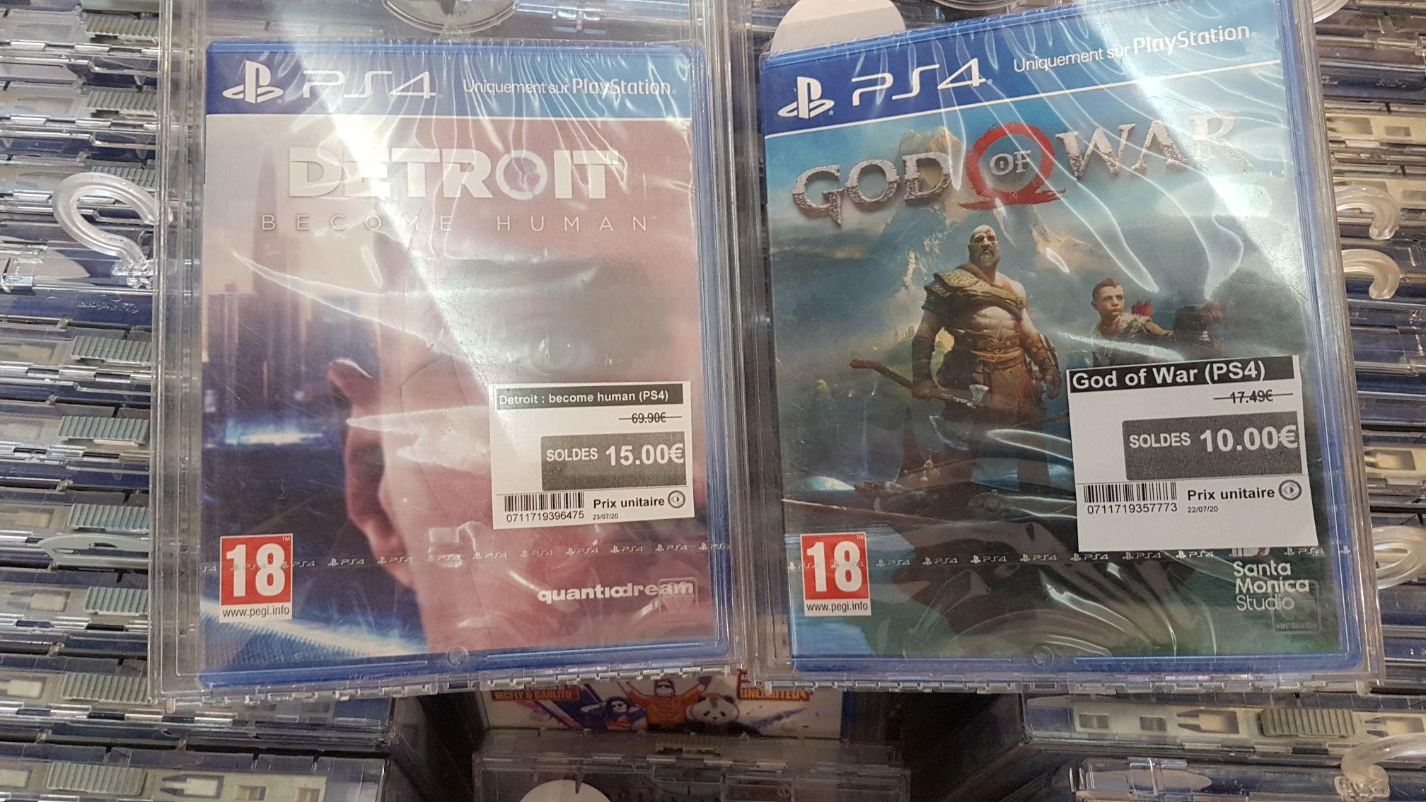 Sélection de jeux sur PS4 en promotion - Ex : God of War - Saint-Léonard (76)