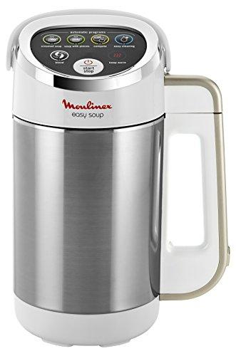 Blender chauffant Moulinex Easy Soup LM841110 - 1,2 L, Blanc, 1000W