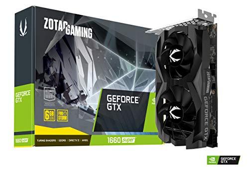 Carte Graphique Gaming Zotac GeForce GTX 1660 Super Twin Fan - 6Go GDDR6
