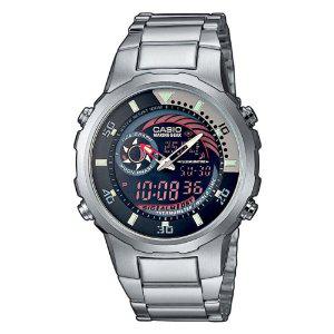 Montre Homme Casio MRP-703D-1AVEF - Multifonction, Quartz analogique et digitale - Bracelet en acier