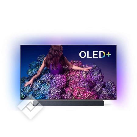 "TV OLED 55"" Philips 55OLED934/12 - 4K UHD, Smart TV, Ambilight (Frontaliers Belgique)"