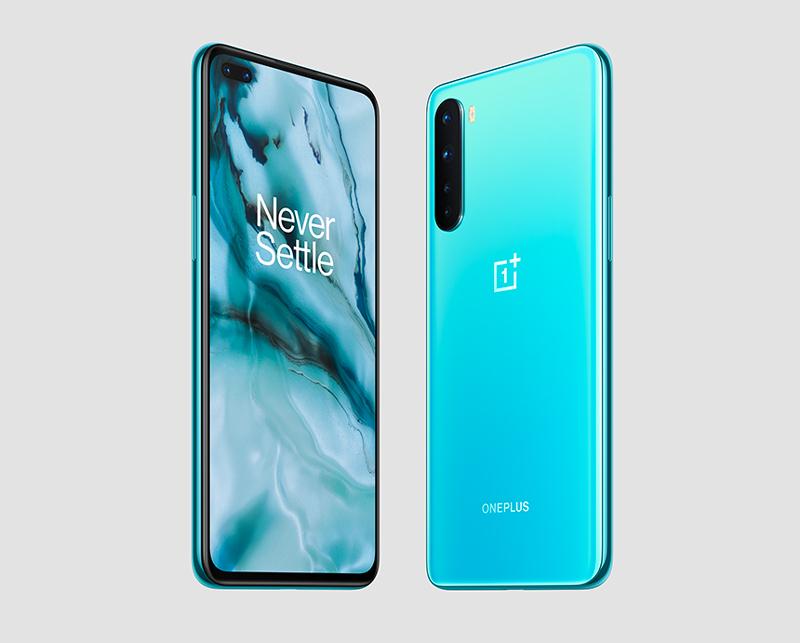 Smartphone Oneplus Nord 5G - Bleu, Gris - 128 Go, 8 Go RAM, Snapdragon 765G, Écran 90 Hz AMOLED