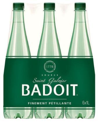 Lot de 4 packs de 6 bouteilles de Badoit