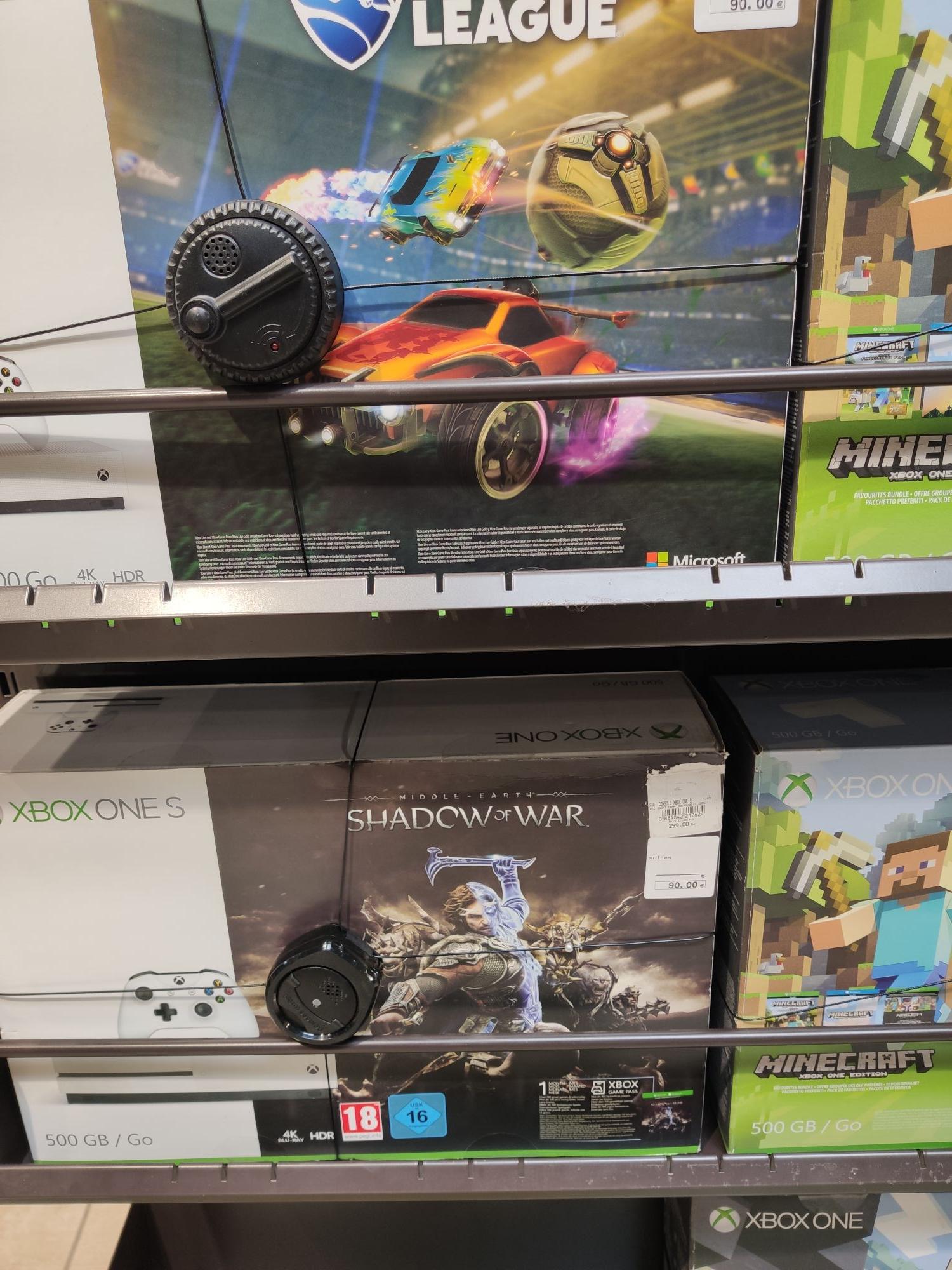 Sélection de Packs Consoles Microsoft Xbox One S (500 Go) à 90€ - Ex : Minecraft - Gap (05)
