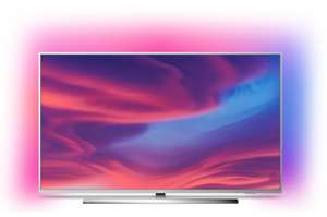 """TV LED 65"""" Philips The One 65PUS7354 - 4K UHD, HDR10+, Android TV, Ambilight 3 côtés"""