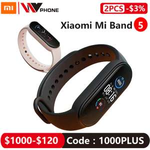 Bracelet connecté Xiaomi Mi Band 5 - Version CN