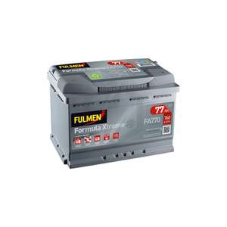 Batterie de voiture Fulmen XTREME FA770 - 12V, 77AH, 760A (power-manutention.fr)