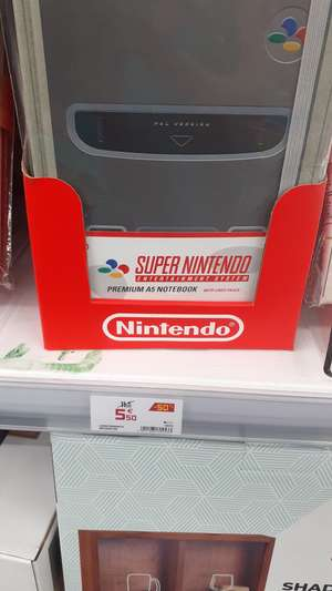 Cahier de note Super Nintendo - GiFi Bouliac (33)