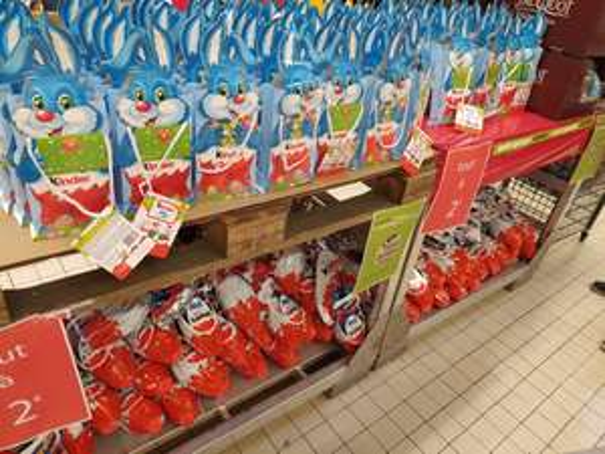 Sélection de produits Kinder à 2€ - Cora Lens 2 (62)