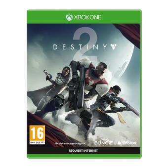 Jeu Destiny 2 sur Xbox One - Edition standard (Via retrait magasin et via mobile)
