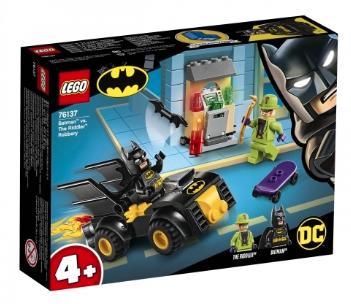 Jeu de construction Lego Batman et le vol de l'homme mystère n°76137