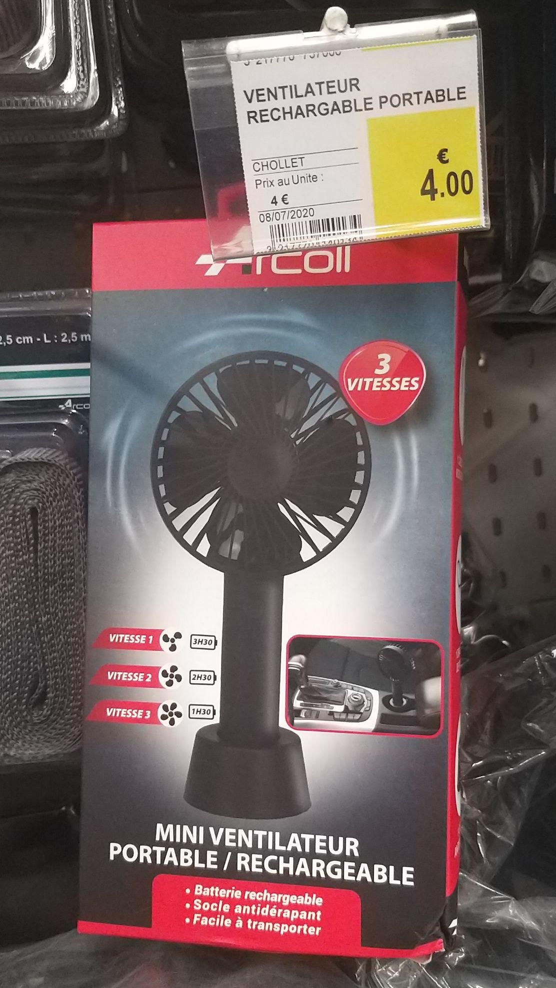Ventilateur portable rechargeable Arcoll - Saint Priest en Jarez (42)