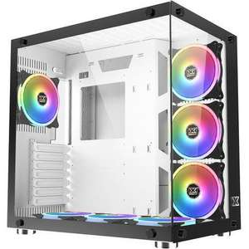 Boitier Moyen tour PC Xigmatek Aquarius Plus - Blanc