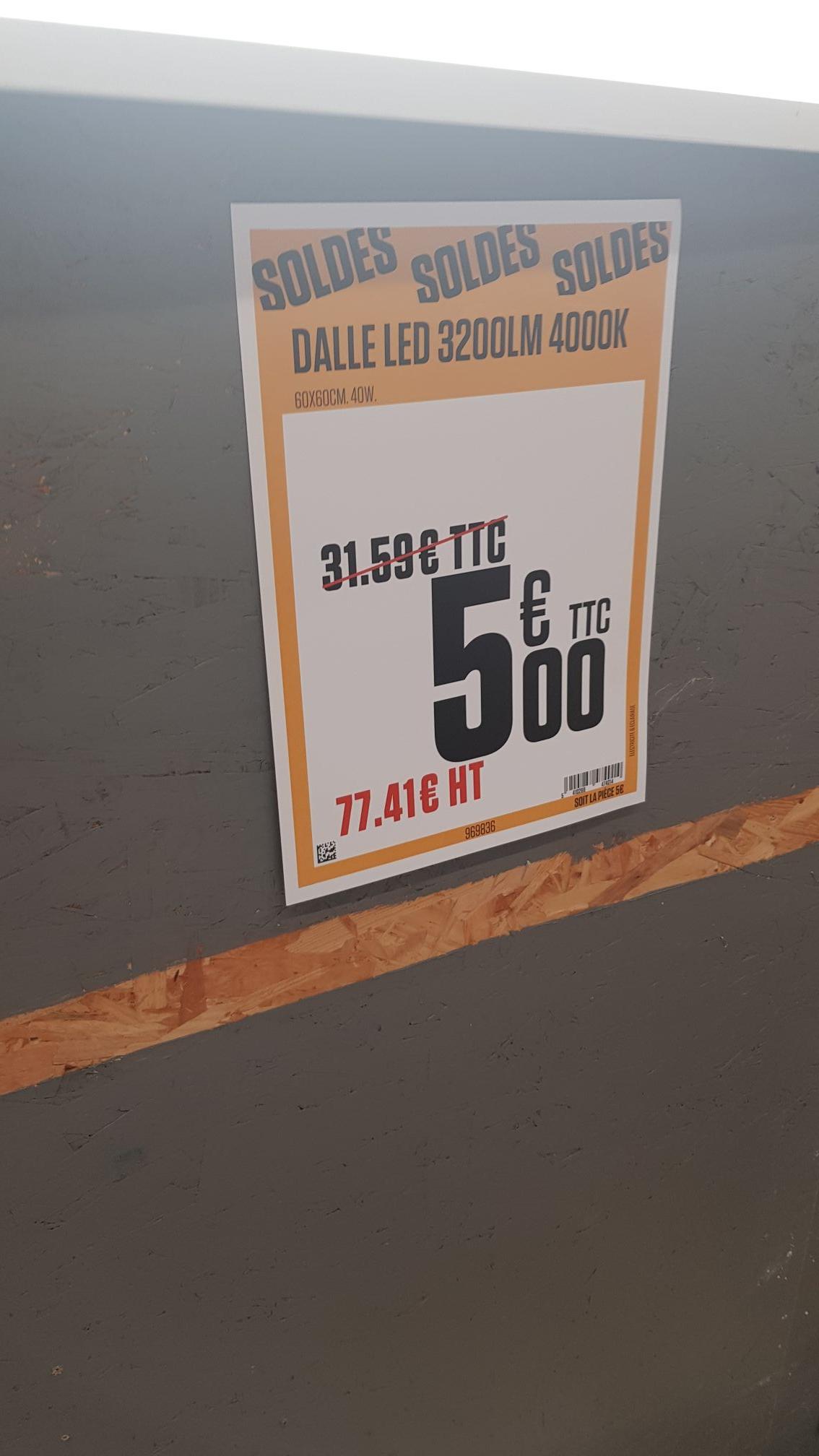 Dalle led 3200LM 4000K - Distré (49)