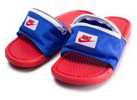 Sandales banane Nike Benassi JDI Bright Crimson