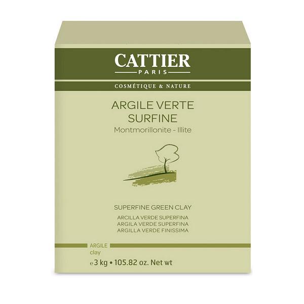 Argile Verte Surfine Cattier - 3 kg