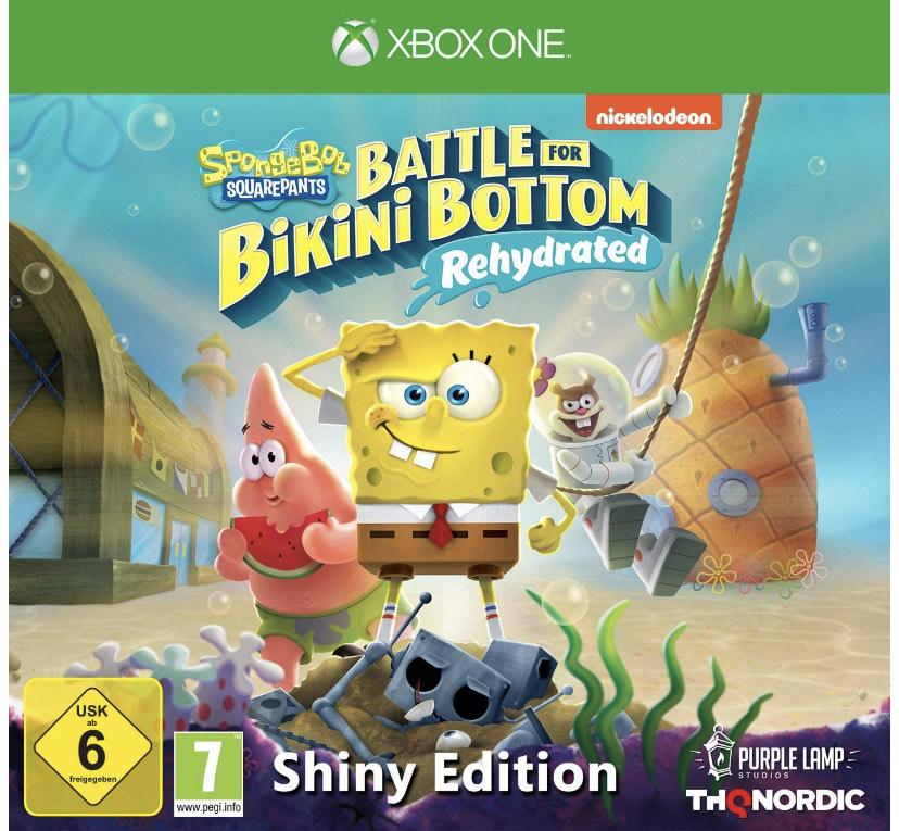 Spongebob Squarepants: Battle For Bikini Bottom Rehydrated - Shiny Edition sur Xbox One