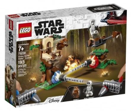 Jeu de construction Lego Star Wars : L'assaut d'Endor (75238)
