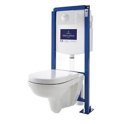 VILLEROY & BOSH - Pack WC suspendu sans bride Direct Flush