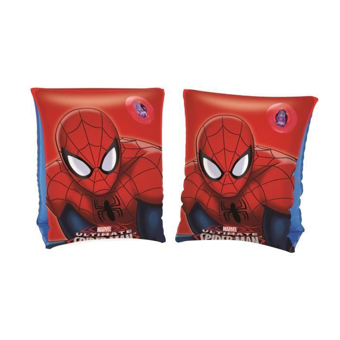 Sélection de brassards de bain Bestway pour enfant en promotion - Ex: Bassard Spider-Man 23x15cm