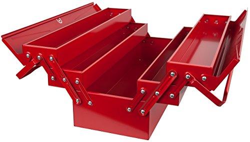 Caisse à Outils Métallique KS Tools 999.0120 avec 5 Compartiments - 430 x 200 x 200mm